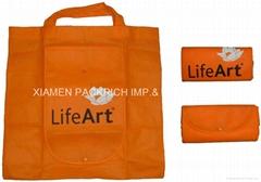 easy carried non woven folding bag