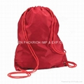 210D polyester sport gym drawstring bag 2