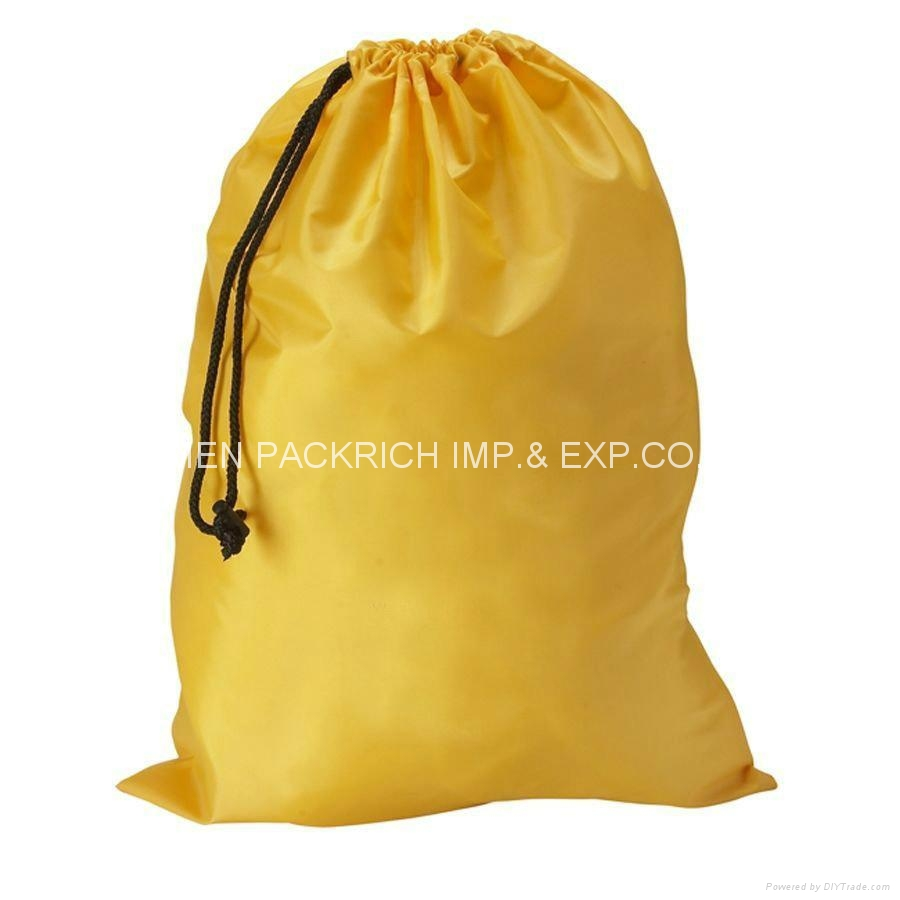 Wholesale nylon drawstring backpack bag 1