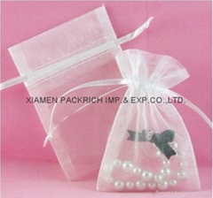 Hot sale organza pouch bag