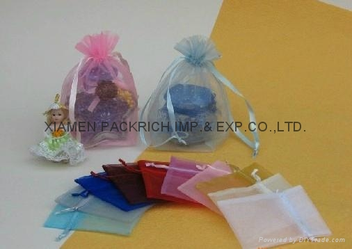 Mini promotional organza pouch 1