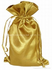 80gsm satin drawstring gift  bag