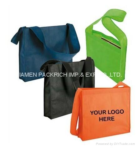 Cheap Non woven school shoulder bag 1