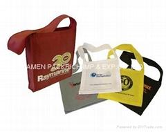 Colorful recycle Non woven polypropylene school bag