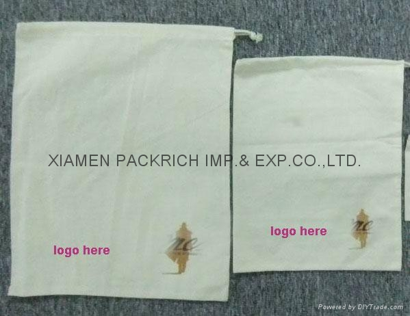 Promotional Cotton Canvas Drawstring Bag