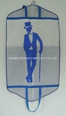 Full printing  non woven garment cover