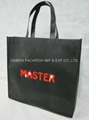 Best selling non woven shopping bag with customized color