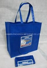 Heat transfer non woven foldable  bags