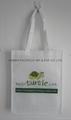 Long handle non woven cute gift bag