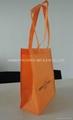 Cheap  folded non woven shopping bag