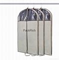 Colored non woven polypropylene+pvc garment bag 2
