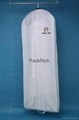 Promotional white non woven gown wedding dress cover 3