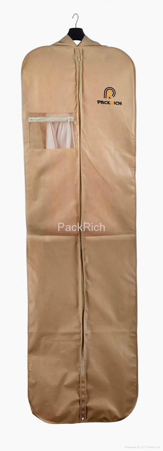 Customed non-woven bridal wedding gown bag 1