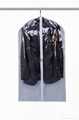 Wholesale durable dustproof  clear plastic zipper garment bag