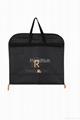 Custom Printed Black PEVA  foldable Carrier Garment Bag