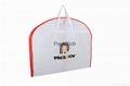 Foldable Extensions Non Woven Cloth Fabric Wedding Dress garment bag