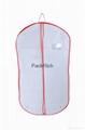 Foldable Extensions Non Woven Cloth Fabric Wedding Dress garment bag 2