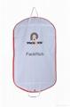 Foldable Extensions Non Woven Cloth Fabric Wedding Dress garment bag 3