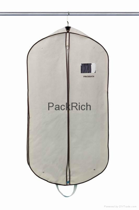 Wholesale eco-friendly customize color non woven garment bag with full printing