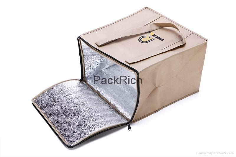 Promotional non woven polypropylene chiller storage bags 4