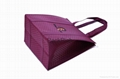 SGS popular attractive design embossed non woven  thermal cooler bag