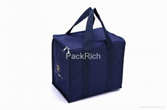Best selling recycle polyester promotional Insulated picnic cooler bag