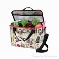 Personalize all over printing durable  reusable chiller bag