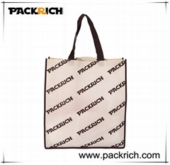 all over printed non woven shopping gift bag