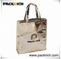 Reusable laminated non woven shopping bag