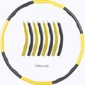 Wholesale Hula Fitness Gym Detachable Hoop