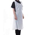 Custom Medical Sleeveless Disposable Gown Hygienic White Plastic Pe Apron