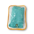 Custom Made Pvc Plastic Non-woven Zip Lock Clothing Bag With Own Logo