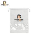 OEM brand non woven drawstring bag shoe dust bag with logo