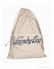 High Quality Cotton Laundry Bag