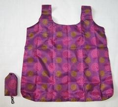 Flower pattern Nylon foldable bag