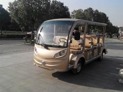 東風新款14座觀光車