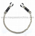 Adjustable Silver Nipple Clamps