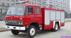 Dongfeng EQ145 foam fire Truck