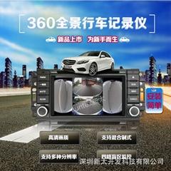 深圳新太AHD車載畫面分割器
