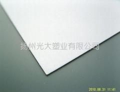 啞白PVC板材