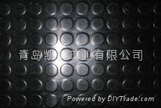 rubber stud flooring/ ru