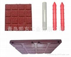 rubber paver,rubber tile