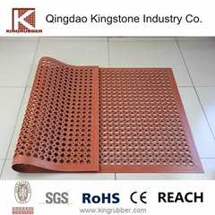 rubber safety hollow mat rubber