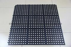 橡膠防滑墊 耐油多孔墊