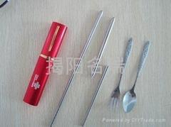 不锈钢筷子套装