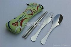 不锈钢餐具套装