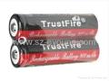 TrustFire TF14500 900mAh 3.7V non-protected li-ion Battery