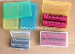 UltraFire Battery Plastic Box 2X18650 or 2XCR123A/16340 Battery