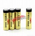 Efest 18650 3.7V 2600mah li-ion protected battery