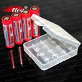 4*18650 /18450/14500 efest battery carry case